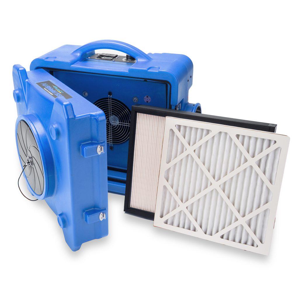 Residential hepa air scrubber